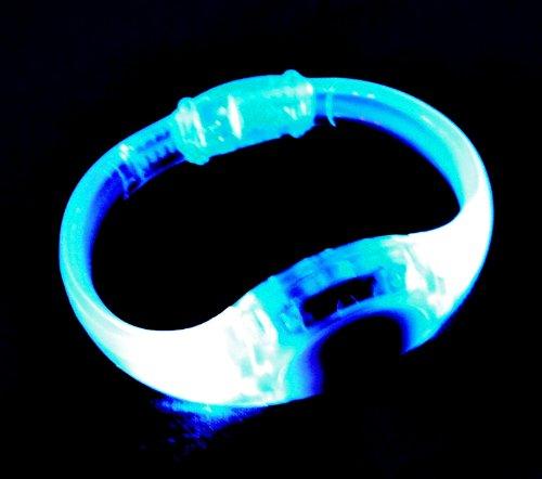 Sound Activated Led Light Up Bracelet (Blue)