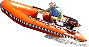 Saturn 13 ft Red Inflatable Boat by Saturn