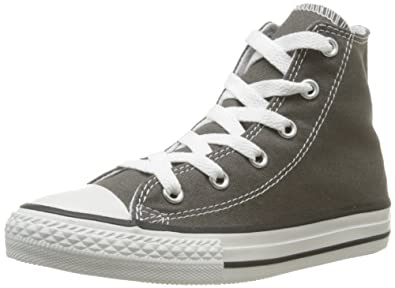 Converse Chuck Taylor All Star Season Hi, Baskets mode fille - Gris (Anthracite), 20 EU