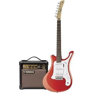 yamaha egv103rcf electric surf guitar accessory kit amp red musical instruments. Black Bedroom Furniture Sets. Home Design Ideas