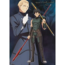 一番くじプレミアム Fate/Zero PART 1 D賞 オリジナルポスター ケイネス&ランサー