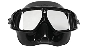 Aqua Sphere Sphera Swim Mask (Black skirt/Black Frame)