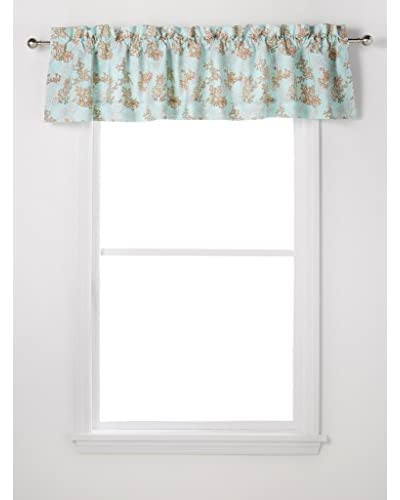 Under The Sea Blouson Valance, Blue Multi