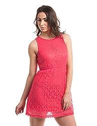 Prym Women's A Line Dress (1011507102_Coral_Medium)