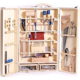 Professional Wooden Toy Tool Box