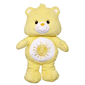 Care Bears Funshine Bear Toy with DVD by Hasbro