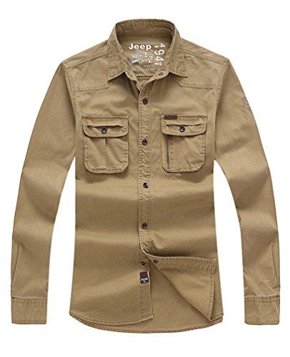 baishun-jeep-da-uomo-100-cotone-maniche-lunghe-camicie-khaki-xxx-large