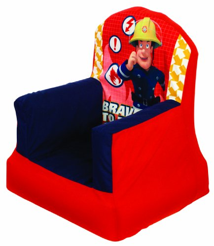 Fireman Sam Inflatable Cosy Chair