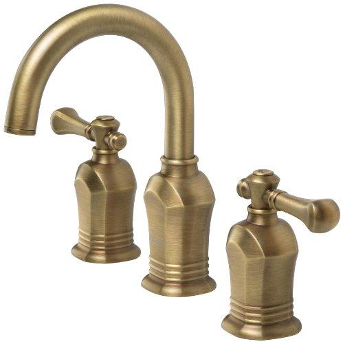 Pegasus 67389 8024h Verdanza Series 8 Inch Widespread 2 Handle High Arc Bathroom Faucet In