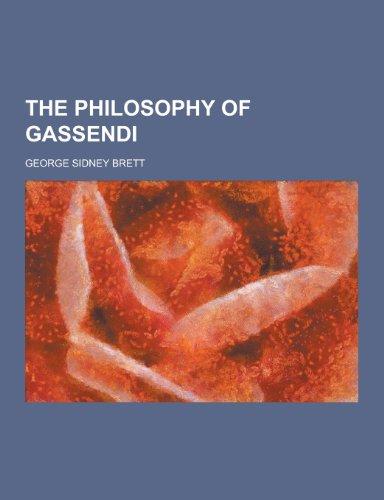 The Philosophy of Gassendi