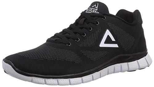 Peak Sport Europe - PEAK Sport Europe F Lites Black-White Unisex Sneaker, Sneakers, unisex, nero (black/white), 47