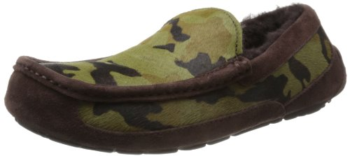UGG M Ascot Camo Low Mens Shoes Brown Braun (STOUT) Size: 8 (42 EU)