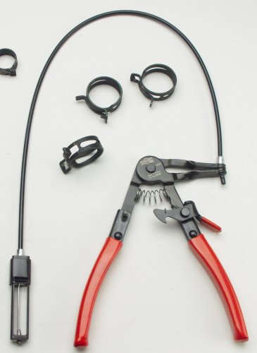 Mayhew Pro Tools 28650 Spring Loaded Hose Clamp Plier for 11/16-to-2-Inch Self Tightening Hose Clamps