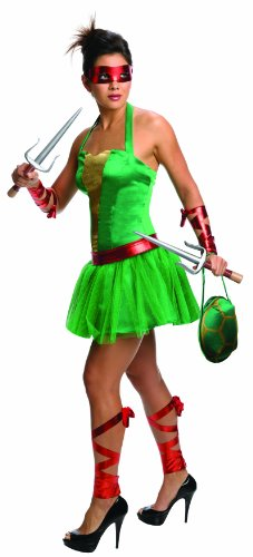 Nickelodeon Teenage Mutant Ninja Turtles Raphael Adult Female Costume