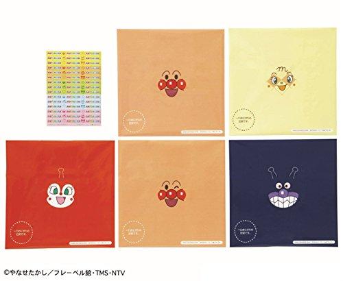 バンダイ  アンパンマン おにぎりラップ 15枚入 (5柄×3枚) 2058384
