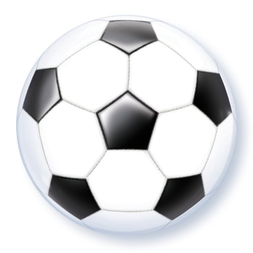 22 Inch Soccer Ball 3D Bubble Balloons
