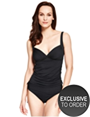 M&S Collection Side Ruched Tankini Top