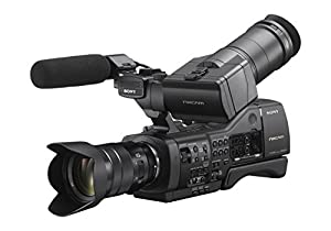 Sony NEXEA50M Entry Level APS-C Professional Camcorder with 3.5-Inch LCD (Black)