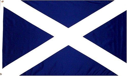 Scotland St Andrews CROSS Flag: 3x5ft Poly meet me in scotland