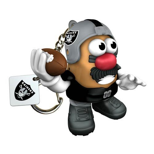 Nfl Oakland Raiders Mr Potato Head Keychain front-929860
