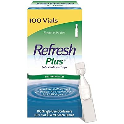 Refresh Plus, 300 Single Use Containers ,Refresh-ji