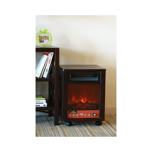 Dr Infrared Heater Portable Fireplace 1500 Watts ILG 958 Fireplace New