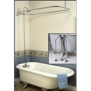 How to Add a Shower to a Clawfoot Bathtub | eHow.com