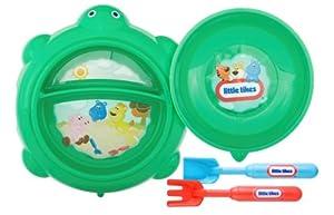 Zak Designs 4 Piece Little Tikes Turtle Mealtime Set