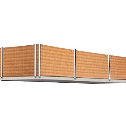 wind und sichtschutz f r den balkon gartenzaun 5m l nge steinoptik dc33. Black Bedroom Furniture Sets. Home Design Ideas
