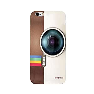 iSweven Printed _iph6p_3142 Instra Camara Design Multicolored Matte finish Back case cover for Apple iPhone 6 plus