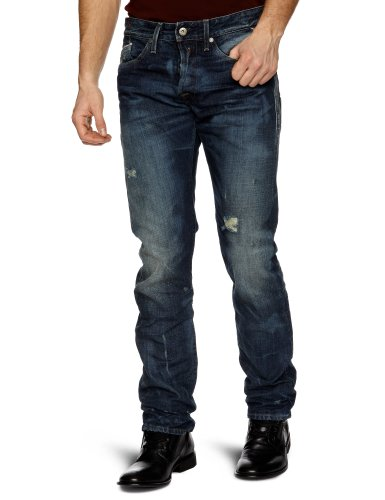 Replay Waitom 4 Slim Men's Jeans Heavy Blue Denim W32INxL34IN