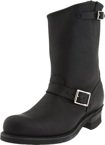 Frye Men's Engineer 12R Boot Black 87431DBN11 10 UK D