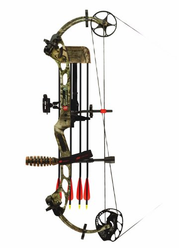 PSE 60-Pound Madness Bow Package (Left Hand)