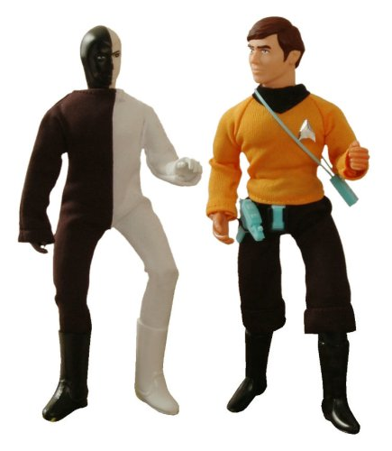 Buy Low Price Diamond Select Star Trek: Original Series Mego 'Cloth Retro' Chekov & Cheron Action Figures Set of 2 (B0027E664Q)