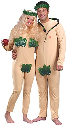 Adam & Eve Adult Couple Costumes