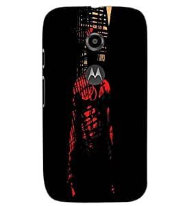 MOTOROLA MOTO E2 MAN Back Cover by PRINTSWAG