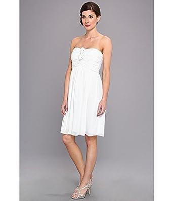 Donna Morgan Women's Hallie Double Front Rosette Dress Hint of Mint Dress 0