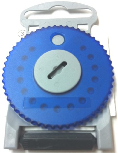 HF4 BLUE Wax Guard Wheel for Siemens Hearing Aids - BLUE SIDE...