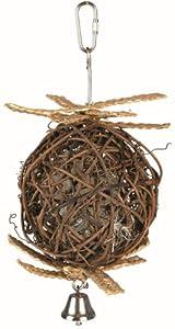 Trixie Weidenball mit Glocke, ø 10 cm/22 cm