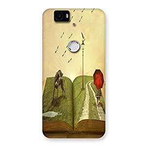 Unicovers Amazing Book Back Case Cover for Google Nexus-6P