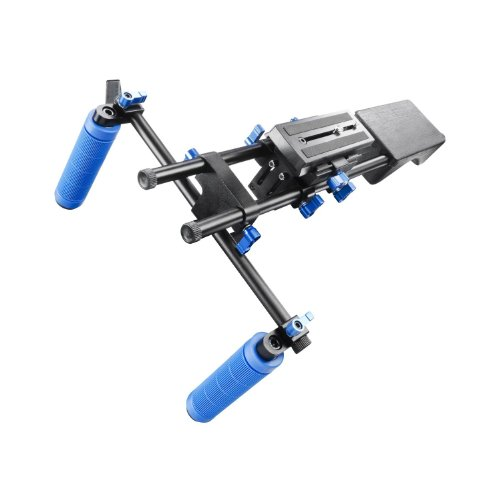eimo Professional Shoulder Rig Shoulder Mount Movie Kit Video Chest Stabilizer DSLR Rig For DSLR Cameras and Camcorders... Black Friday & Cyber Monday 2014