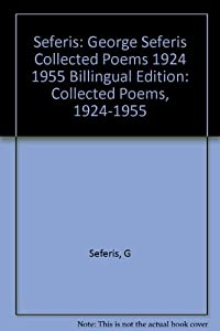 George Seferis: Collected Poems, 1924-1955. Bilingual Edition (Princeton Legacy Library) download ebook