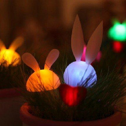 Glowing Rabbit Plant Pots