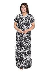 Vimal Fashion Cotton Multi Colour Printed Night Wear / Nightgown / Women Sleepwear / Womans Pyjamas (VF059)