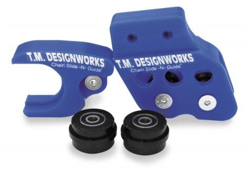 T.M. Designworks Factory Edition Rear Chain Guide - Blue Rcg-Ysm-Bu