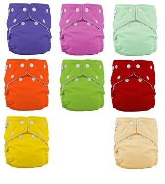 Fuzzi Bunz One Size Cloth Diapers 3 Pack Girl Colors