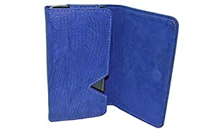 TOTTA PU Leather Wallet Pouch For Huawei G620S -BLUE
