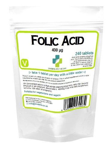 Folsäure 400mcg Tabletten (240)