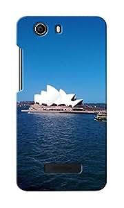 KnapCase Opera House Designer 3D Printed Case Cover For Micromax Canvas Nitro 2 E311