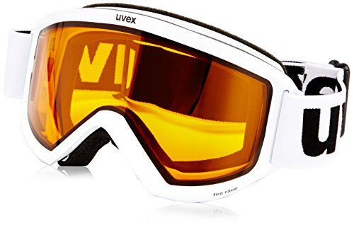 Maschera da sci Uvex Fire Race S(1) lasergold lite Modell 2014 in div. Farben,